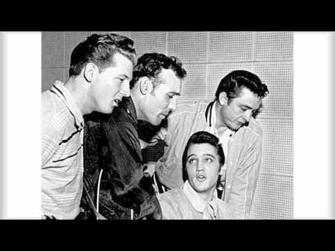 The Million Dollar Quartet - Elvis Presley,Carl Perkins,Jerry Lee Lewis,Johnny Cash