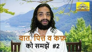 2. Vata Pitta Kapha (Tridosha) Explained | Basic Ayurveda Knowledge in Hindi by Nityanandam Shree