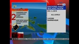 NTVL: Weather update as of  9:15 PM (NDecember 01, 2019)