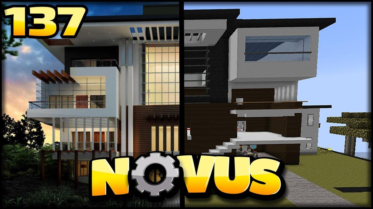das beste haus in minecraft modpack minecraft novus 137 youtube. Black Bedroom Furniture Sets. Home Design Ideas