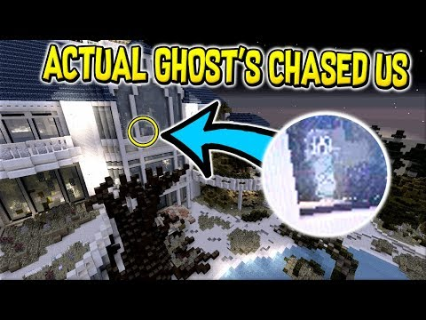 Playing on The Real Most Haunted Map in Minecraft !! (We Got Chased Out)