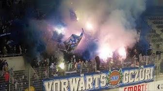 FC Schaffhausen 0:3 GC Zürich 22.02.2020 Choreo, Pyro & Support
