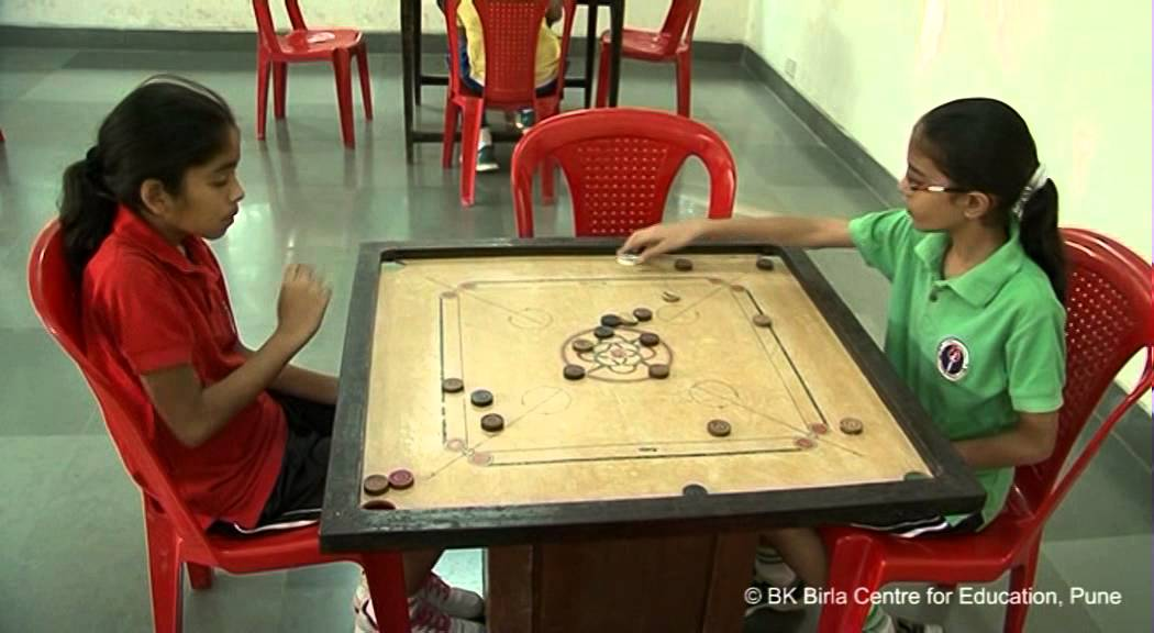 Carrom in the indoor games facility at BK Birla Center For Education     Carrom in the indoor games facility at BK Birla Center For Education  Pune    YouTube