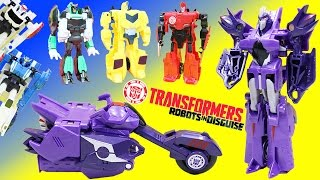 Transformers Robots in Disguise Fracture has a big Autobot & Decepticon Adventure!