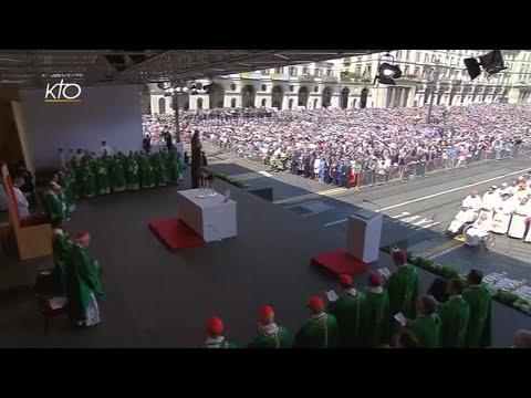 Messe et Angélus du Pape François à Turin