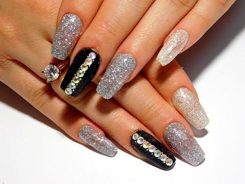 Рисунок на ногтях на нарощенных ногтях фото