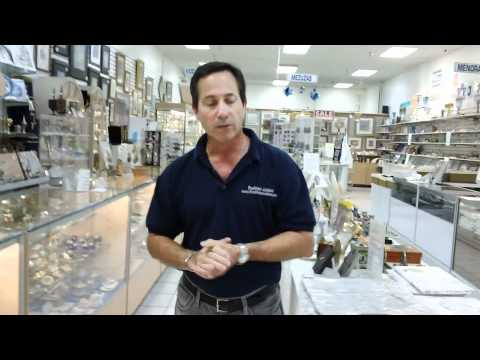 Tradition's Judaica Store in the Festival Flea Market in Pompano Beach, Florida