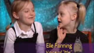 Dakota and Elle Fanning - My Neighbor Totoro