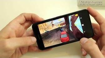 Nokia Lumia 630 im Spiele und Gaming Test