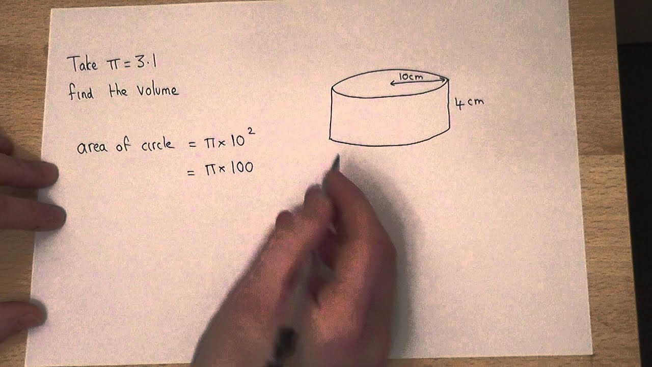 Volume : How To Find The Volume Of A Cylinder