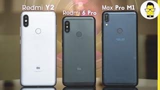 Redmi 6 Pro vs ZenFone Max Pro M1 vs Redmi Y2 camera comparison: stalemate