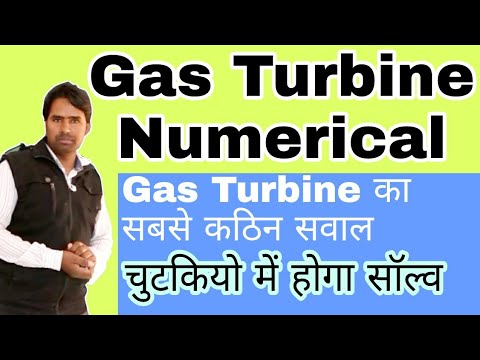 Gas Turbine Numerical | Brayton Cycle Problem in Hindi