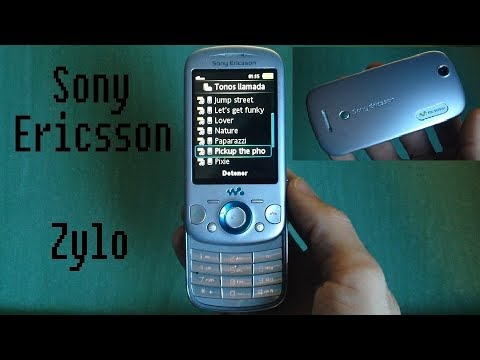 Sony Ericsson Zylo - original ringtones, wallpapers, themes and quick review