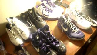 MY GAME USED NBA MEMORABILIA! SHOES, HEADBANDS, JERSEYS, WRISTBANDS, AND MORE!