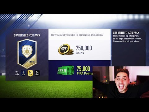 *NEW* WORLDS GREATEST EVER PACK IN FIFA 18 HISTORY!!!