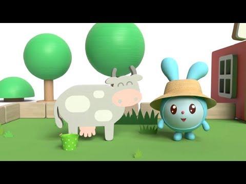 Ферма 🐄 🐖 🐓 МАЛЫШАРИКИ - Танцуем и поем / Теремок песенки для детей (nursery rhymes)
