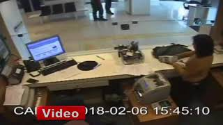 Kayseri Fibabank Banka Soygunu Kamereda