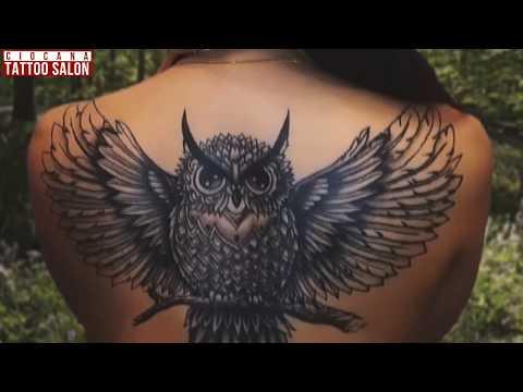 24 - Тату Птица - значение татуировки