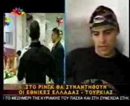 GREECE VS TURKEY STAM THE SHOWMAN