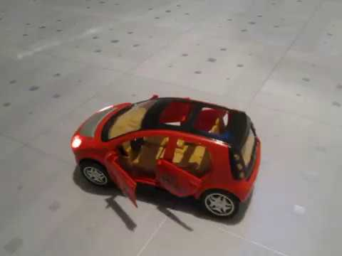 Crazy Dancing Toy Car Smart Forfour Model Youtube