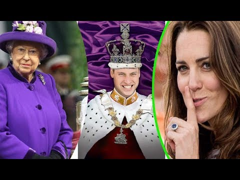 What is the title for KATE MIDDLETON when welcoming twins and prince WILLIAM become king?