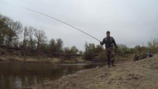 Рыбалка на реке 7 мая Ловля голавля плотвы и другое