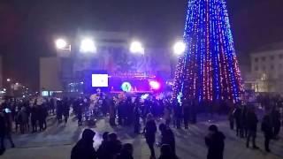 В Луганске состоялось открытие главной Елки. 23.12.2016.