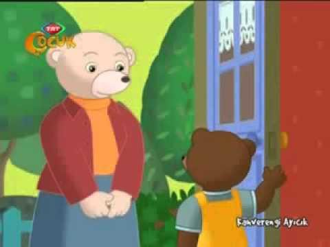 kahverengi ayıcık   çizgi film   trt çocuk   oyuncaklarını paylaşmak istemiyor