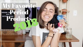 My Favorite Period Products | 2018 Video