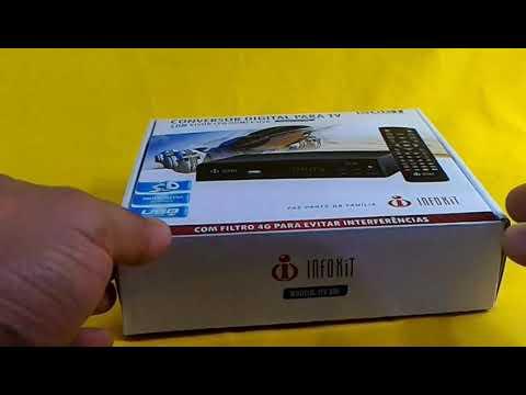 Unboxing conversor infokit ITV-300