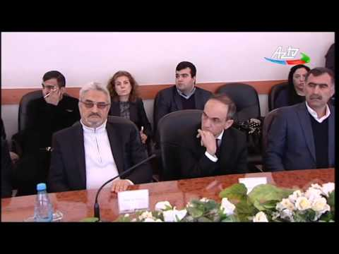 Conference on Holocaust in Baku, Azerbaijan (AzTV report)