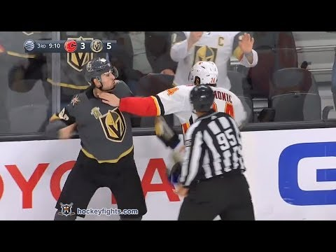 Travis Hamonic vs Alex Tuch Feb 21, 2018