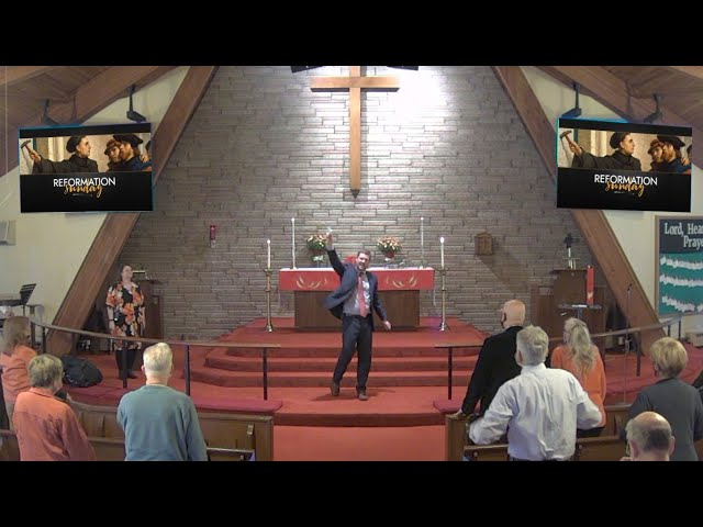 Worship for October 25, 2020 - Reformation Sunday