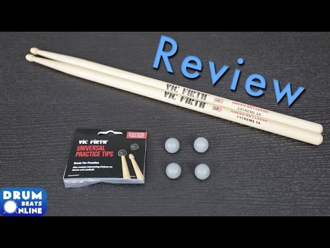 Vic Firth Universal Practice Tips - Review | Drum Beats Online