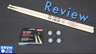 Vic Firth Universal Practice Tips - Review   Drum Beats Online