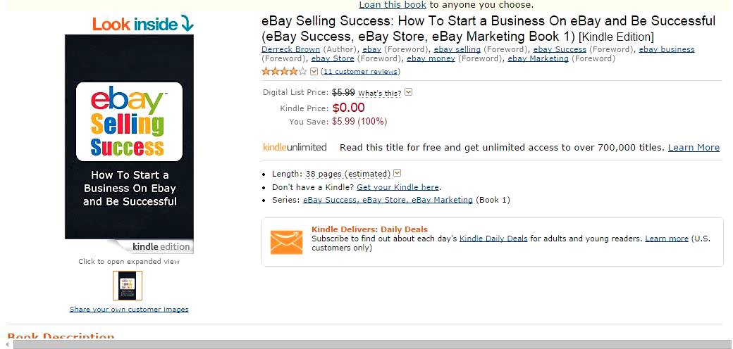 Ebook Awareness Ebay Selling Success How To Start A Business On Ebay And Be Successful Youtube