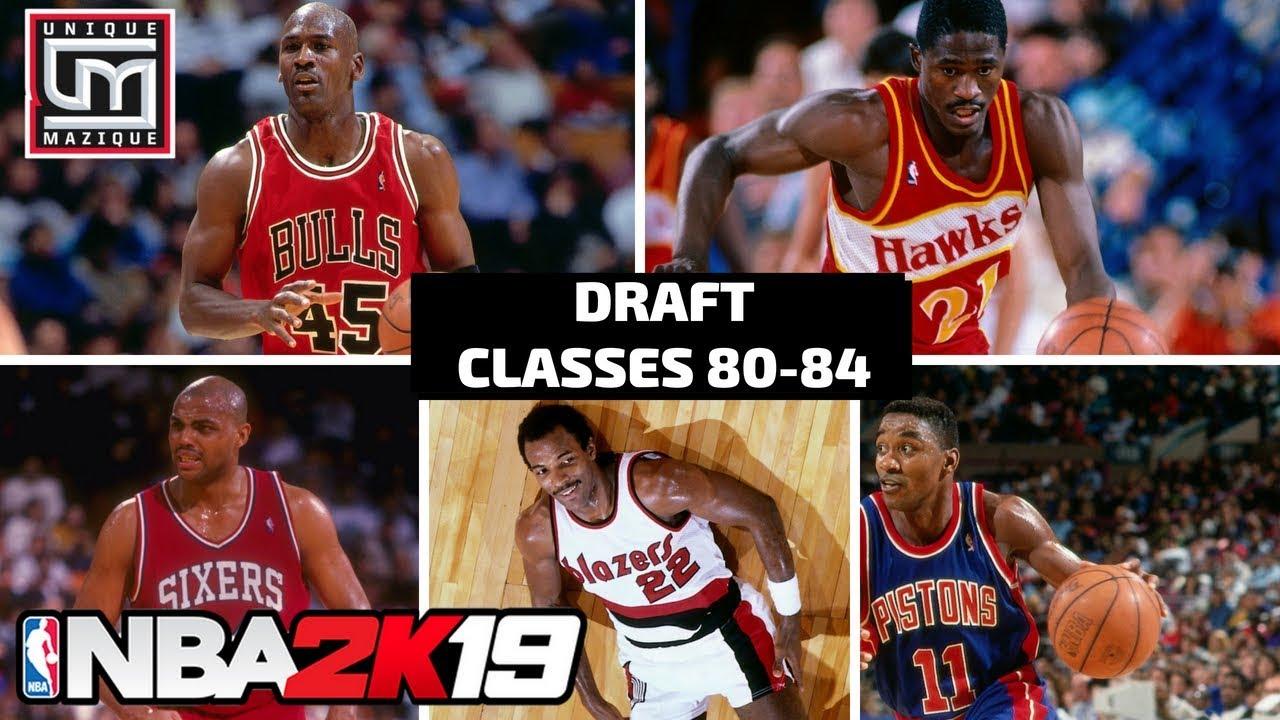 NBA 2K19   MyLeague Talk   Highlighting The Historic Draft Classes (1980-84)