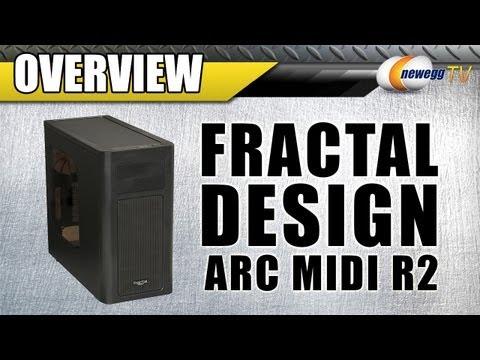 Fractal Design Arc Midi R2 Mid Tower Computer Case Overview - Newegg TV