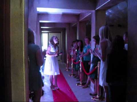 Red Carpet Bridal Shower