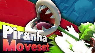 Smash Ultimate - Piranha Plant Moveset Analysis