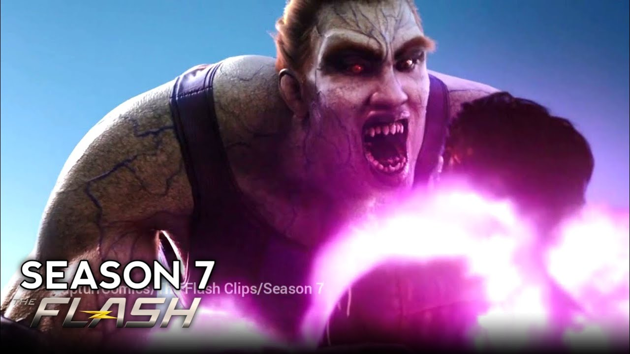 Download 'Barry and Fuerza vs Psych Final fight' Scene | The Flash 7x10