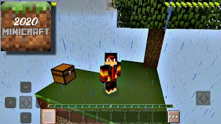 Minicraft 2020   Skyblock Survival   Android Gameplay screenshot 1