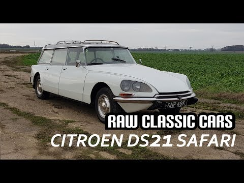 1971 Citroen DS 21 Safari - Raw Classic Cars