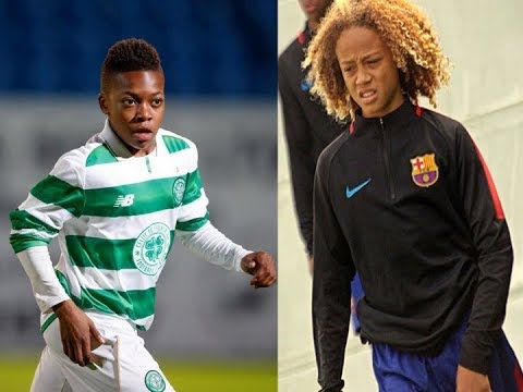 Karamoko Dembele & Xavi Simons All Touches - Barcelona vs Celtic