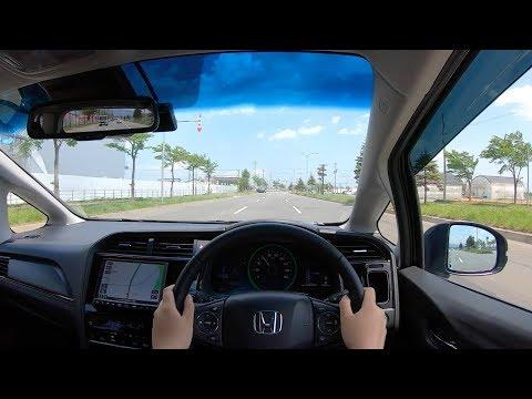 【Test Drive】2019 New(MC) HONDA SHUTTLE HYBRID 1.5L 4WD - POV Drive