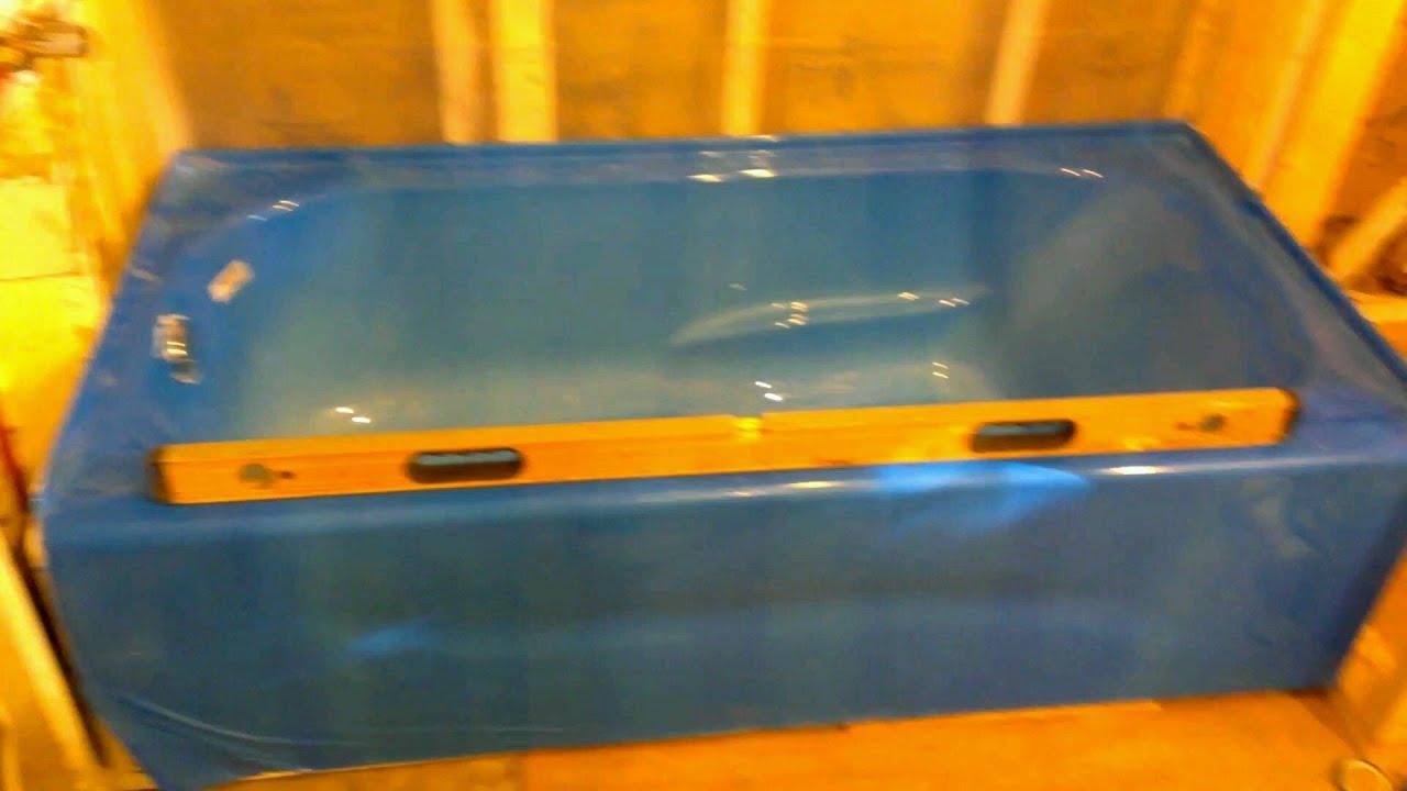 Como instalar una tina de ba o youtube for Como instalar una regadera de bano