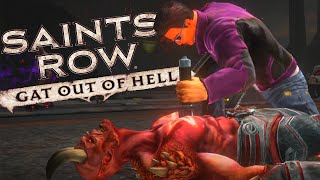 Saints Row Gat Out of Hell - A Zoeira Agora é no Inferno