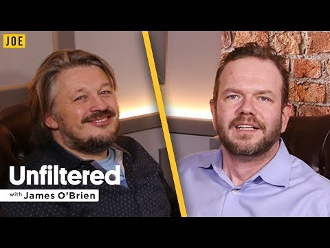 Stand-up comedy legend Richard Herring talks to James O'Brien on JOE.co.uk podcast Unfiltered