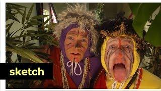 Ard en Fjodor spelen Buikby | Het Klokhuis