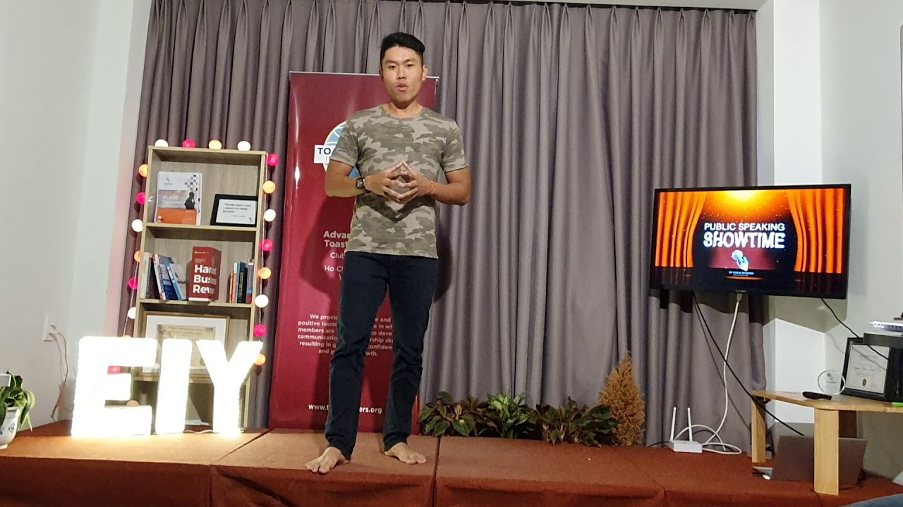 EIY - The Art of Public Speaking - PS23 Duy Graduation ...